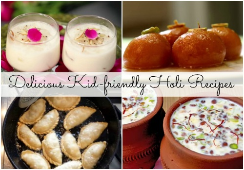 5 kid-friendly Holi recipes for a delicious celebration!