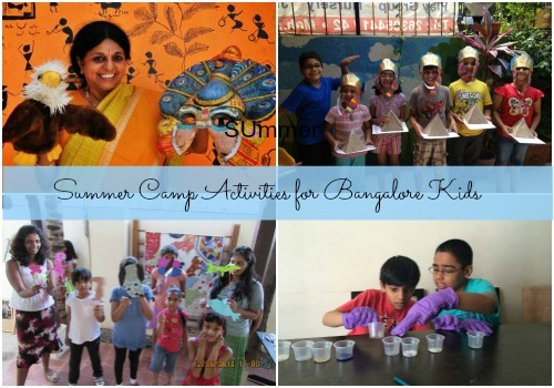 Fabulous summer camp activities in Bangalore