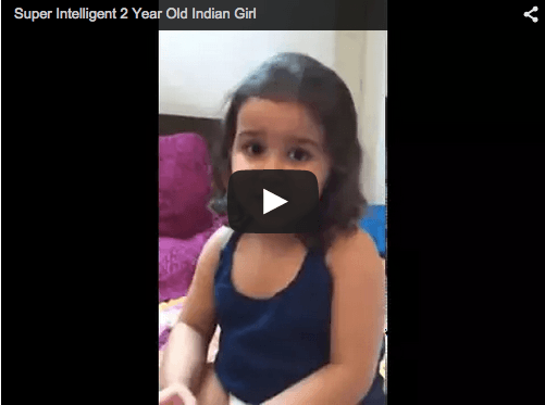 Super intelligent baby on the prowl! Must Watch