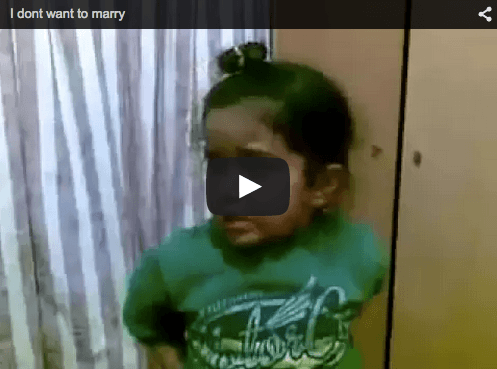 Funny baby video: Punjabi mum & son argue