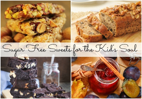 Sugar free sweets for the kid's soul!