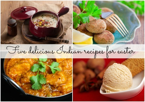 Five delicious Indian recipes for Easter