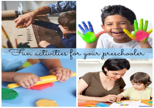 Get going with these fun activities for preschoolers