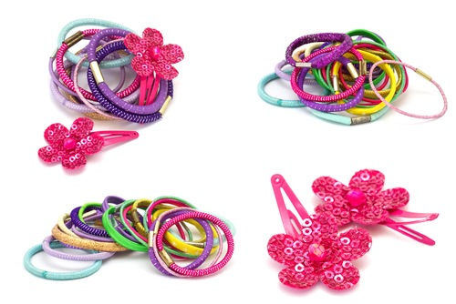 Trendy hair accessories for girls