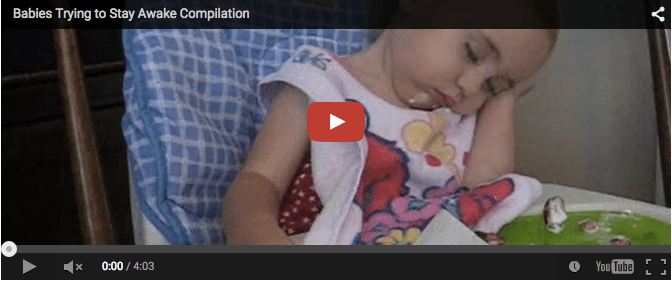 Funny baby video: Babies try to stay awake!