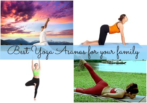 Best yoga asanas for your family