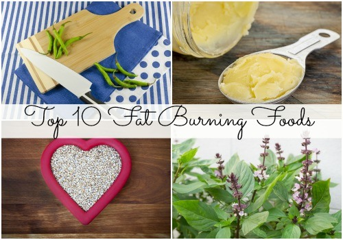 Top 10 fat burning foods!