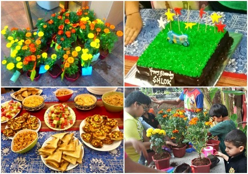 Go green with this 'hatke' birthday party!