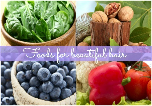 How to control hair fall with food