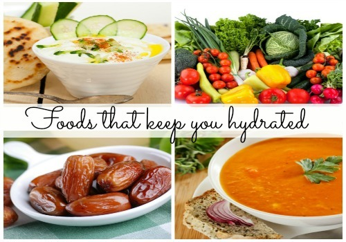 Top 5 foods to keep you hydrated this Ramzan