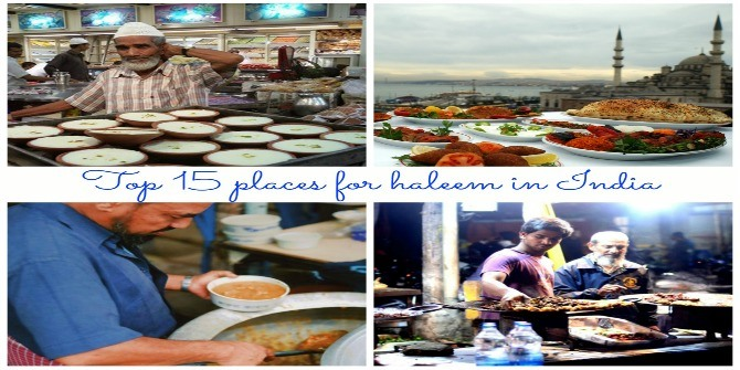 Best places that serve haleem in India! A must check out!