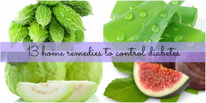 13 effective home remedies for diabetes you must try!