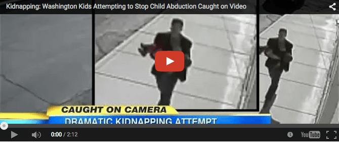 2-yr-old boy almost gets abducted! Watch what happens next