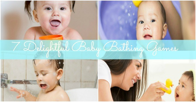 7 delightful baby bathing games for a fun bath time ritual