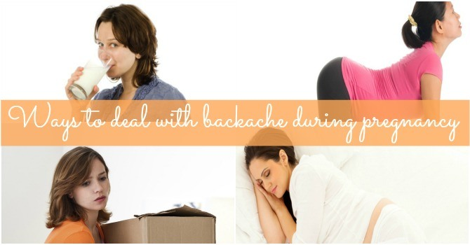 9 surefire tips to ease pregnancy backache