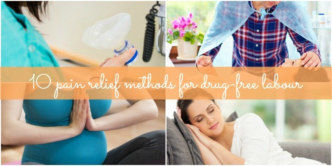 10 amazing methods to ease labour pain!