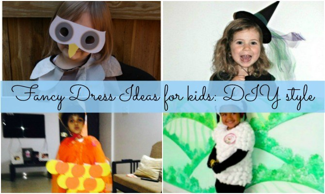 Fancy dress ideas for kids: DIY style