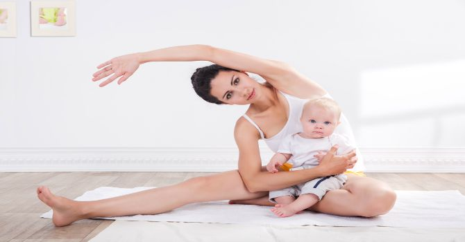 9 simple yet effective tips to stay fit and healthy post-delivery