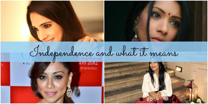 'Independence is taking struggles head-on'... and more thoughts on Independence Day