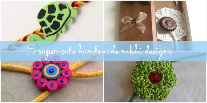 5 super cute handmade rakhi designs