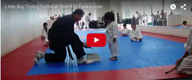 Lil boy's crazy antics at a taekwondo session will make you laugh