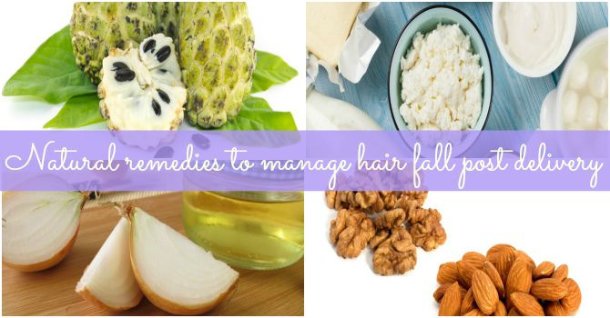 9 remedies to reduce hair fall post-delivery