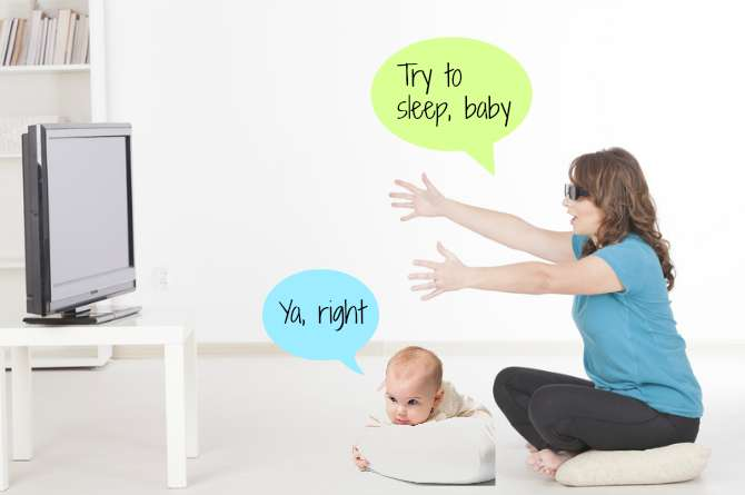 how to make baby sleep