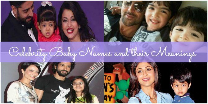 10 Bollywood celeb baby names and their meanings