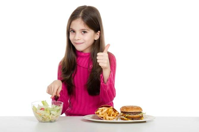 healthy eating habits in kids