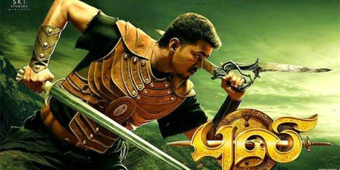 Puli movie review: Painfully yours