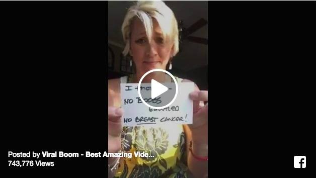 Video of woman describing her cancer journey goes viral