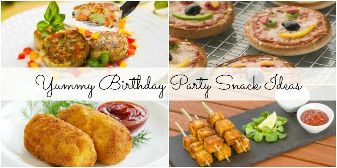 5 easy birthday party snack ideas that will win his heart!