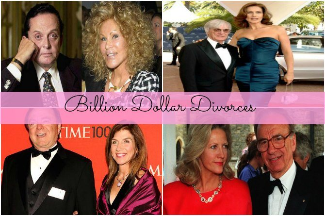 5 of the most eye-popping billion dollar divorces