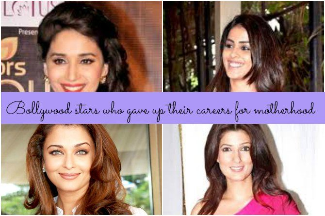 Bollywood beauties who gave up their careers for motherhood