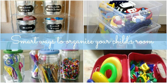 7 smart hacks to organise your child's room with ease