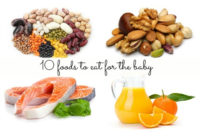 8 nutritional foods to eat for the baby