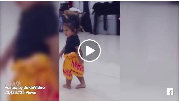 Video of this little girl dancing is taking social media by storm!