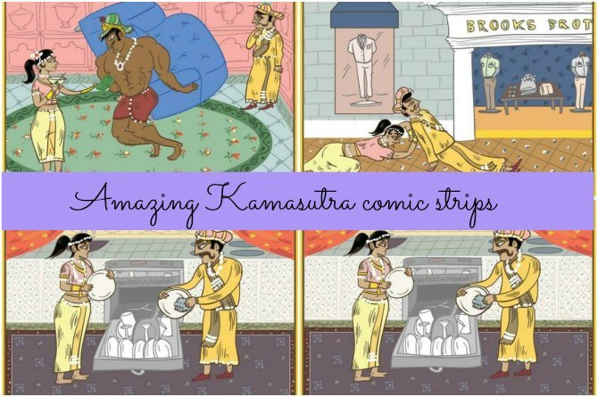 These Kamasutra comic strips will show how life can be after marriage
