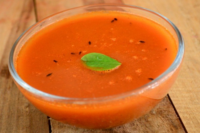 Traditional confinement foods: Recipe for Rasam