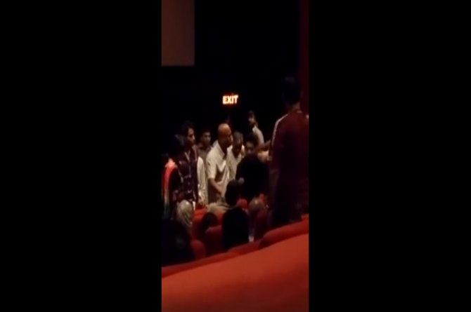 Family abused, forced to leave cinema hall for refusing to stand up for national anthem