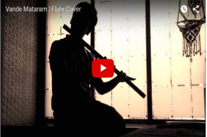 Vande Mataram : Beautiful Flute Tribute to 26/11 Victims