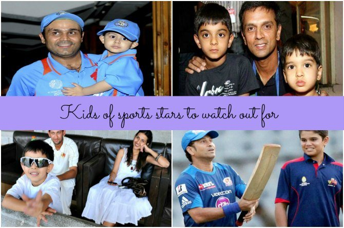 Kids of legendary sports stars to watch out for!