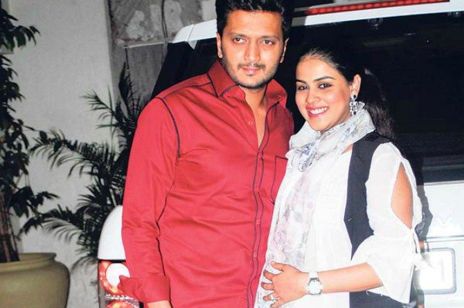 Genelia Deshmukh visited by the stork again?
