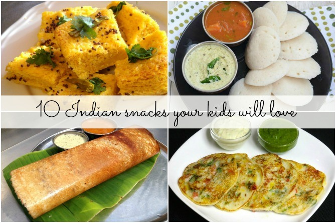 10 Indian snacks your kids will love