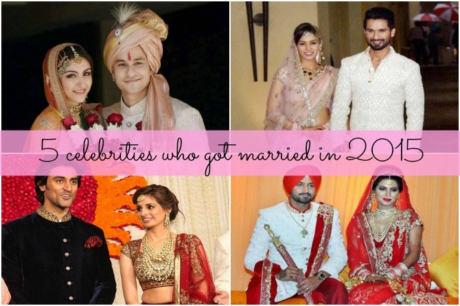 5 celebs who got married this year