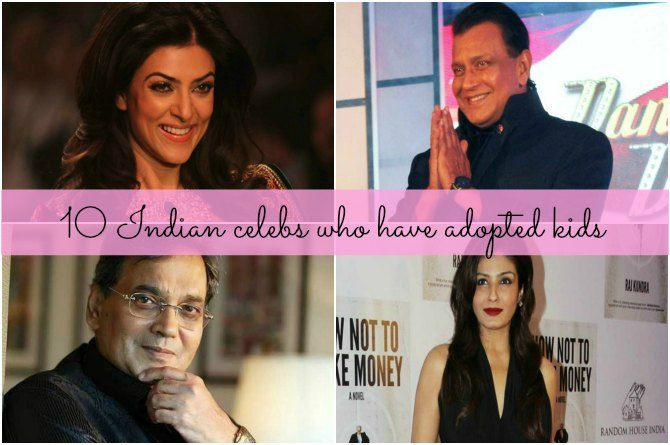 10 Indian celebrities who have adopted kids
