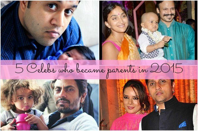 5 celebrities who became parents in 2015