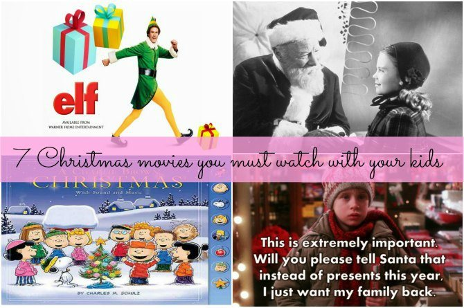 7 Christmas movies you must watch with your kids