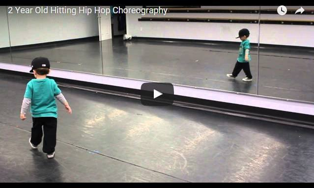 This 2-year-old dances Hip Hop like he was born to do it