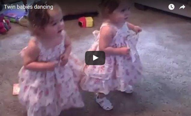 These dancing twin babies will want to make you dance